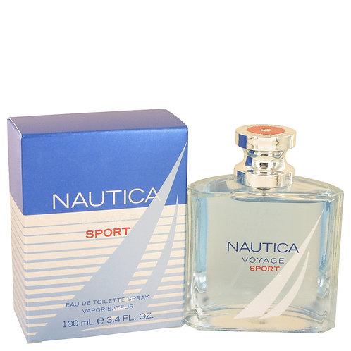 Nautica Voyage Sport by Nautica 3.4 oz Eau De Toilette Spray