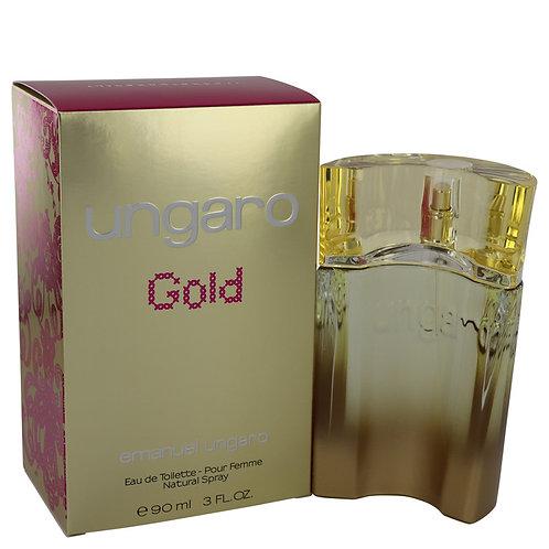 Ungaro Gold by Ungaro 3 oz Eau De Toilette Spray