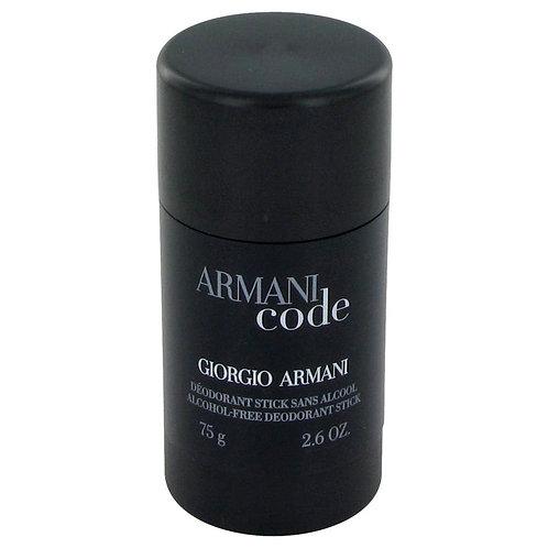 Armani Code by Giorgio Armani 2.6 oz Deodorant Stick