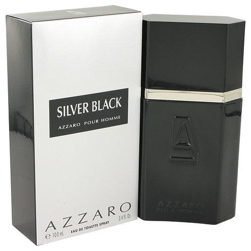 Silver Black by Azzaro 3.4 oz Eau De Toilette Spray