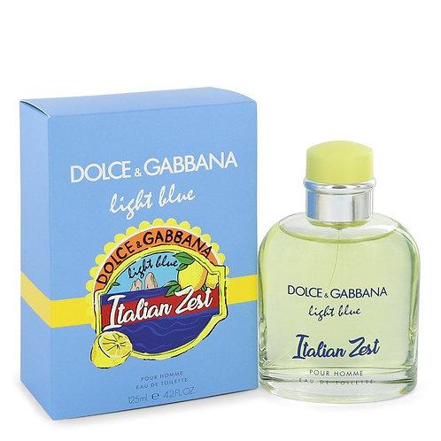 Light Blue Italian Zest by Dolce & Gabbana 4.2 oz Eau De Toilette Spray