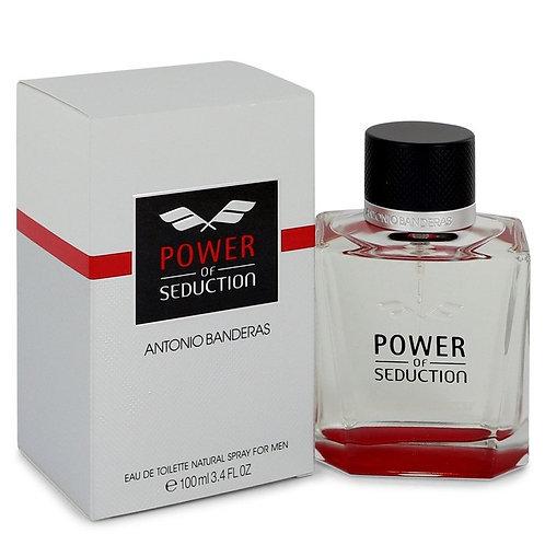Power Of Seduction by Antonio Banderas 3.4 oz Eau De Toilette Spray
