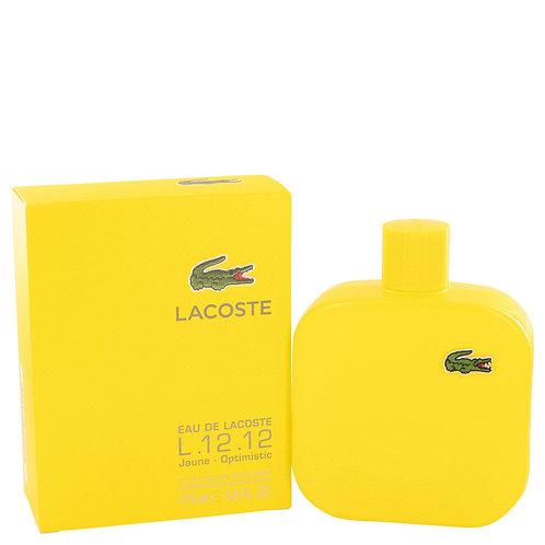 Eau De Lacoste L.12.12 Jaune by Lacoste 5.9 oz Eau De Toilette Spray
