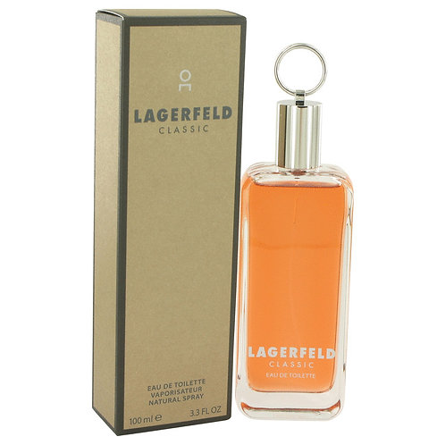 Lagerfeld by Karl Lagerfeld 3.3 oz Eau De Toilette Spray