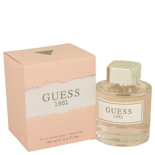 Guess 1981 by Guess 3.4 oz Eau De Toilette Spray