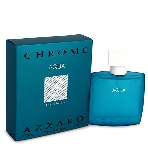 Chrome Aqua by Azzaro 1.7 oz Eau De Toilette Spray