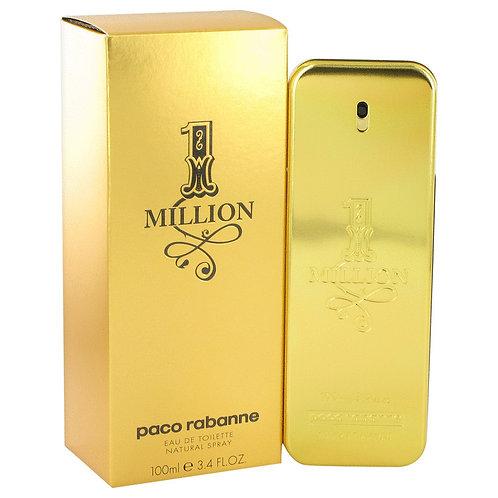 1 Million by Paco Rabanne 3.4 oz Eau De Toilette Spray for men