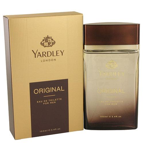 Yardley Original by Yardley London 3.4 oz Eau De Toilette Spray