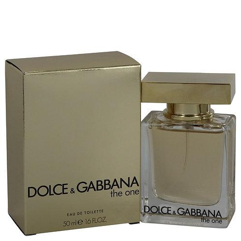 The One by Dolce & Gabbana 1.6 oz Eau De Toilette Spray (New Packaging)