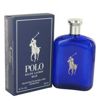 Polo Blue by Ralph Lauren 6.7 oz Eau De Toilette Spray