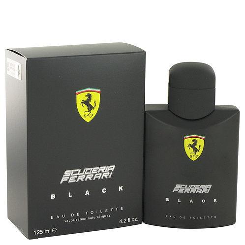 Ferrari Scuderia Black by Ferrari 4.2 oz Eau De Toilette Spray