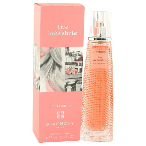 Live Irresistible by Givenchy 2.5 oz Eau De Parfum Spray