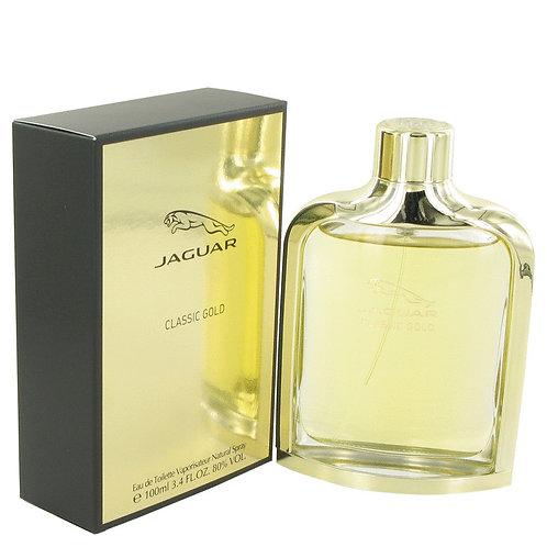 Jaguar Classic Gold by Jaguar 3.4 oz Eau De Toilette Spray