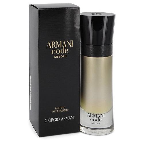 Armani Code Absolu by Giorgio Armani 2 oz Eau De Parfum Spray