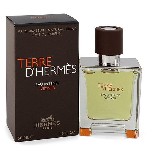 Terre D'hermes Eau Intense Vetiver by Hermes 1.7 oz Eau De Parfum Spray