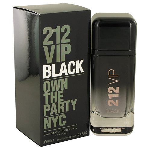 212 Vip Black by Carolina Herrera 3.4 oz Eau De Parfum Spray