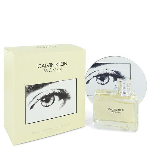 Calvin Klein Woman by Calvin Klein 3.3 oz Eau De Toilette Spray for women