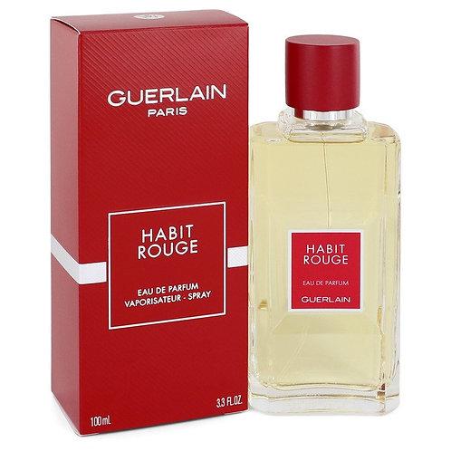 Habit Rouge by Guerlain 3.3 oz Eau De Parfum Spray for men