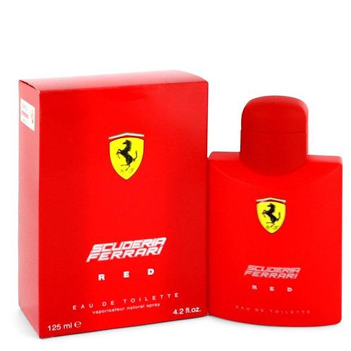 Ferrari Scuderia Red by Ferrari 4.2 oz Eau De Toilette Spray