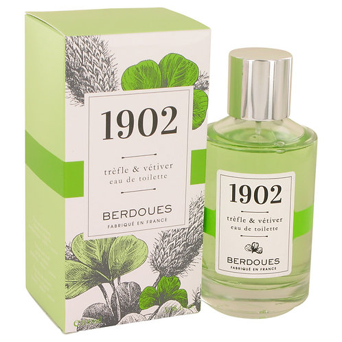 1902 Trefle & Vetiver by Berdoues 3.38 oz Eau De Toilette Spray