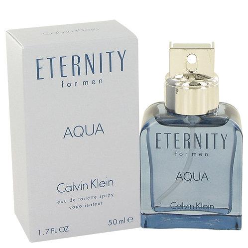 Eternity Aqua by Calvin Klein 1.7 oz Eau De Toilette Spray