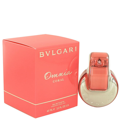 Omnia Coral by Bvlgari 2.2 oz Eau De Toilette Spray