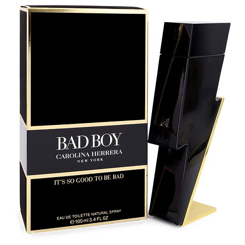 Bad Boy by Carolina Herrera 3.4 oz Eau De Toilette Spray