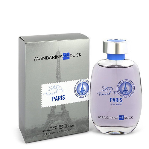 Let's Travel To Paris by Mandarina Duck 3.4 oz Eau De Toilette Spray