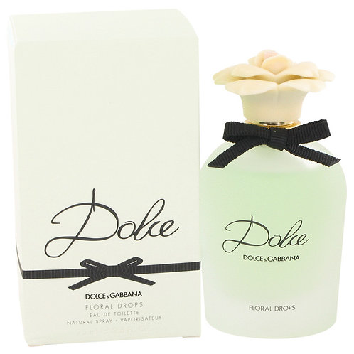 Dolce Floral Drops by Dolce & Gabbana 2.5 oz Eau De Toilette Spray