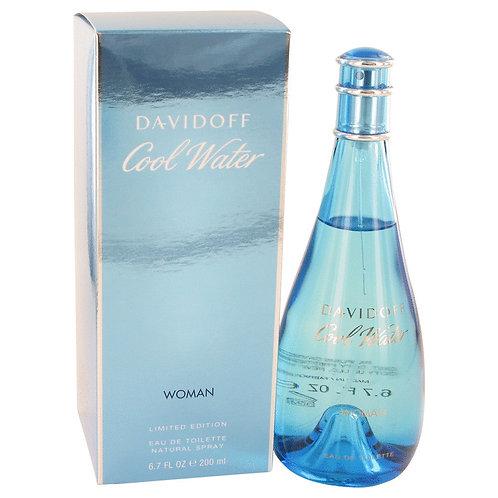 Cool Water by Davidoff 6.7 oz Eau De Toilette Spray