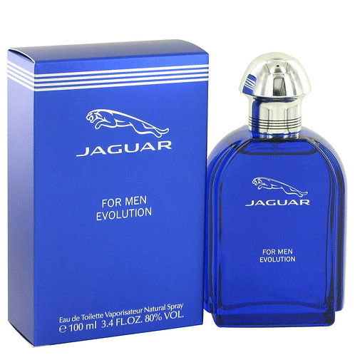 Jaguar Evolution by Jaguar 3.4 oz Eau De Toilette Spray