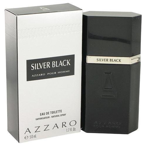 Silver Black by Azzaro 1.7 oz Eau De Toilette Spray