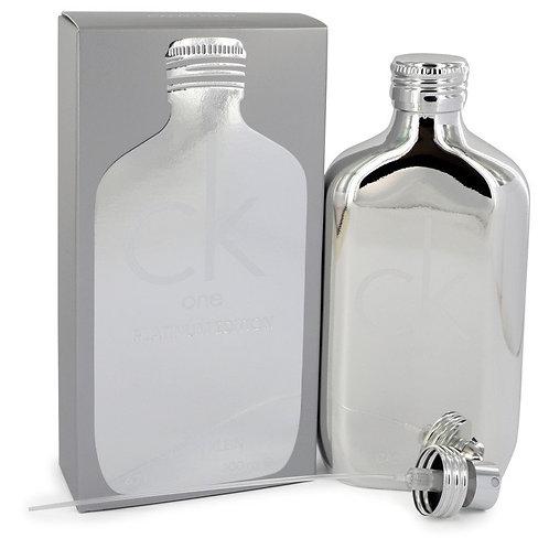 Ck One Platinum by Calvin Klein 6.7 oz Eau De Toilette Spray (Unisex)