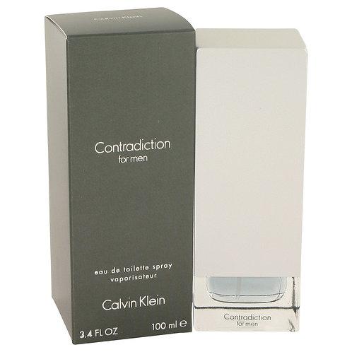 Contradiction by Calvin Klein 3.4 oz Eau De Toilette Spray