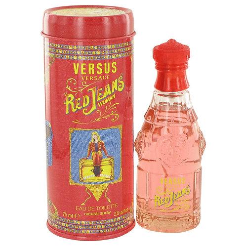 Red Jeans by Versace 2.5 oz Eau De Toilette Spray