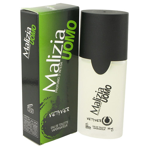 Malizia Uomo by Vetyver 1.7 oz Eau De Toilette Spray