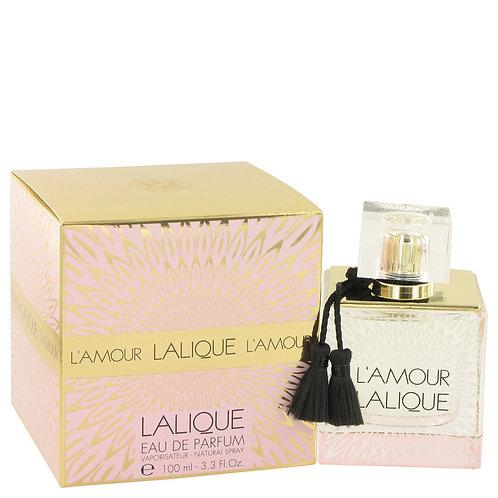 Lalique L'amour by Lalique 3.3 oz Eau De Parfum Spray