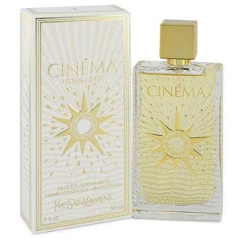 Cinema by Yves Saint Laurent 3 oz Summer Fragrance Eau D'Ete Spray for women