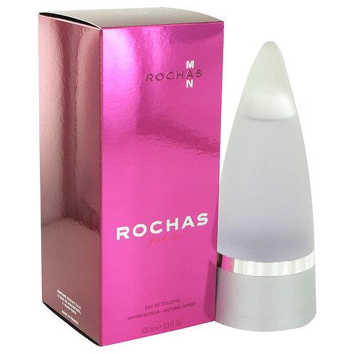Rochas Man by Rochas 3.4 oz Eau De Toilette Spray