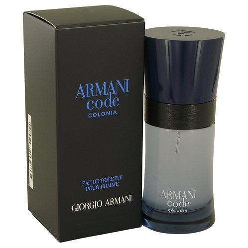 Armani Code Colonia by Giorgio Armani 1.7 oz Eau De Toilette Spray