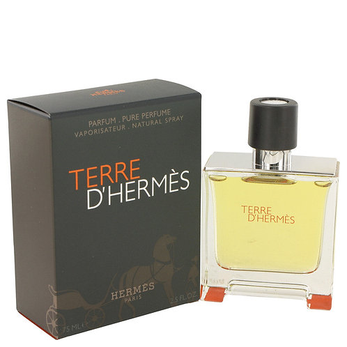 Terre D'hermes by Hermes 2.5 oz Pure Pefume Spray