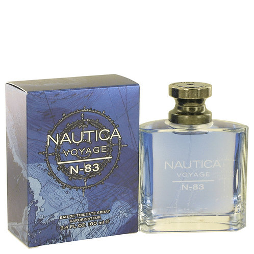 Nautica Voyage N-83 by Nautica 3.4 oz Eau De Toilette Spray