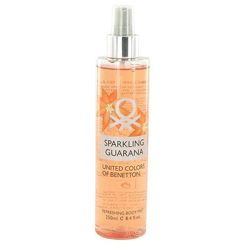Sparkling Guarana by Benetton 8.4 oz Refreshing Body Mist