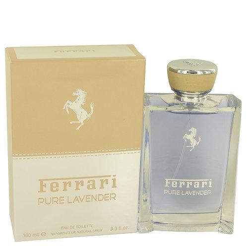 Ferrari Pure Lavender by Ferrari 3.4 oz Eau De Toilette Spray (Unisex)