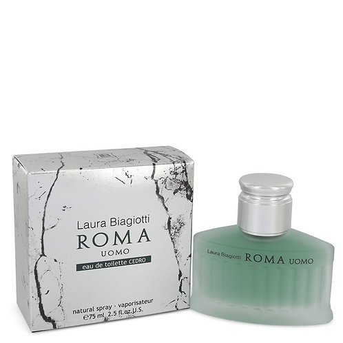 Roma Uomo Cedro by Laura Biagiotti 2.5 oz Eau De Toilette Spray