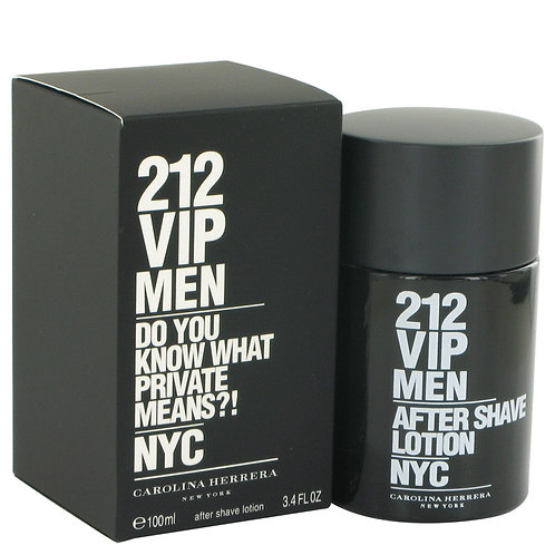 212 Vip by Carolina Herrera 3.4 oz After Shave