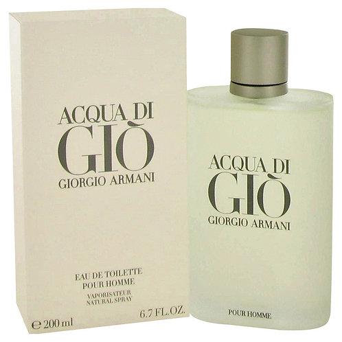 Acqua Di Gio by Giorgio Armani 6.7 oz Eau De Toilette Spray for men
