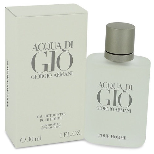 Acqua Di Gio by Giorgio Armani 1 oz Eau De Toilette Spray for men