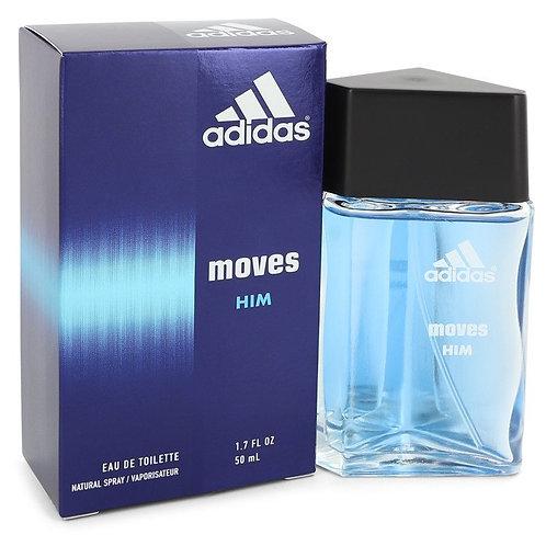 Adidas Moves by Adidas 1.7 oz Eau De Toilette Spray