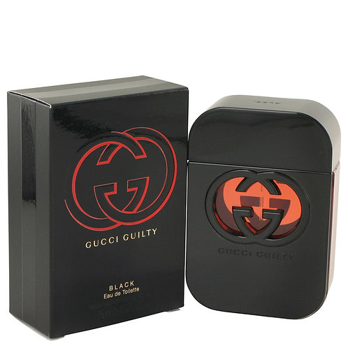 Gucci Guilty Black by Gucci 2.5 oz Eau De Toilette Spray